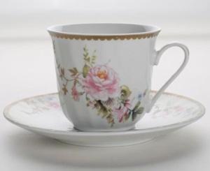 Tea with cream, please.